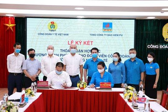 Hợp tác chăm lo sức khỏe đoàn viên ngành y tế - Ảnh 1.