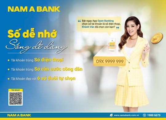 Sở hữu tài khoản số đẹp như ý với nhiều ưu đãi tại Nam A Bank - Ảnh 1.