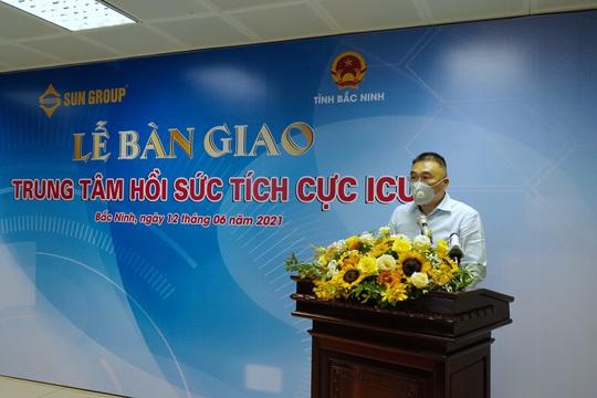 Trung tâm ICU điều trị bệnh nhân Covid-19 nặng tại Bắc Ninh do Sun Group tài trợ hiện đại ra sao? - Ảnh 9.