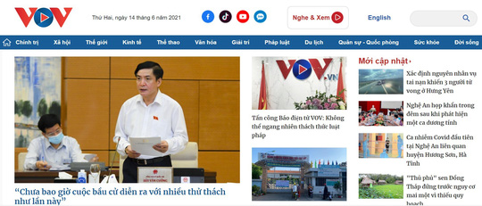 Điều tra vụ Báo điện tử VOV bị tấn công mạng - Ảnh 1.
