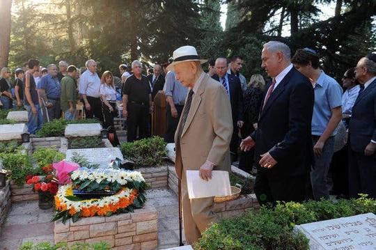 Cuộc đời cựu Thủ tướng Israel Netanyahu qua ảnh - Ảnh 11.