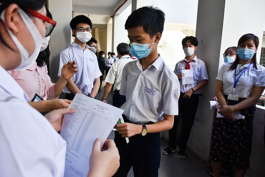 Đà Nẵng: Hơn 13.000 thí sinh tham gia kỳ thi lớp 10 - Ảnh 1.