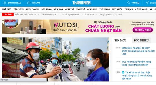 Báo điện tử Pháp luật TP HCM, Thanh Niên bị tấn công mạng gây gián đoạn truy cập - Ảnh 1.