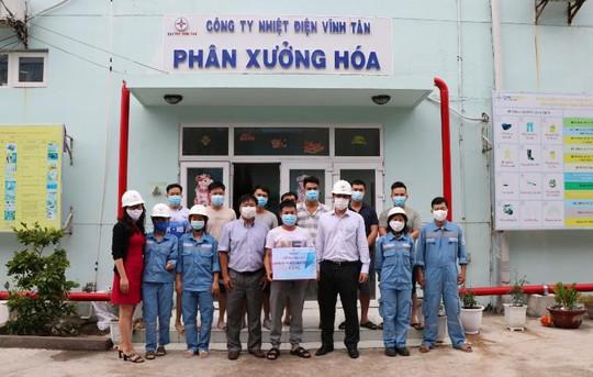 Công đoàn Công ty Nhiệt điện Vĩnh Tân chăm lo sức khỏe người lao động - Ảnh 1.