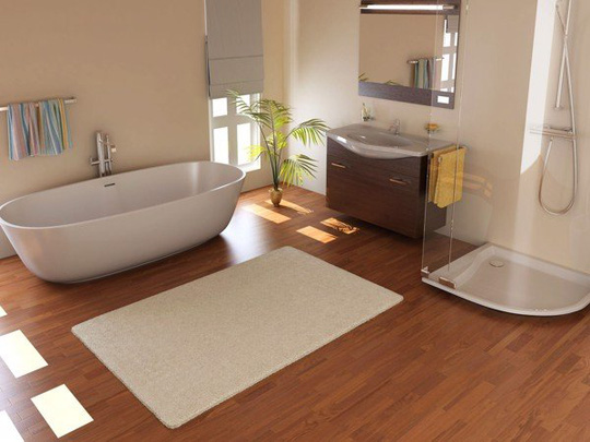 6 lý do khiến sàn nhựa là lựa chọn tốt nhất cho nhà tắm - Ảnh 2.