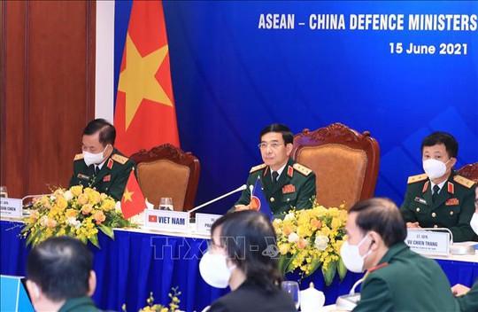 Ủng hộ lập đường dây nóng Bộ trưởng Quốc phòng ASEAN - Trung Quốc - Ảnh 1.