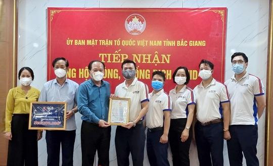 """SCB """"chia lửa"""" cùng Bắc Ninh, Bắc Giang - Ảnh 1."""