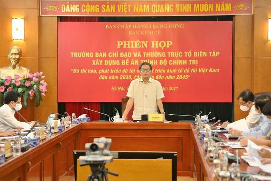 Trình Bộ Chính trị ban hành nghị quyết về phát triển đô thị - Ảnh 1.