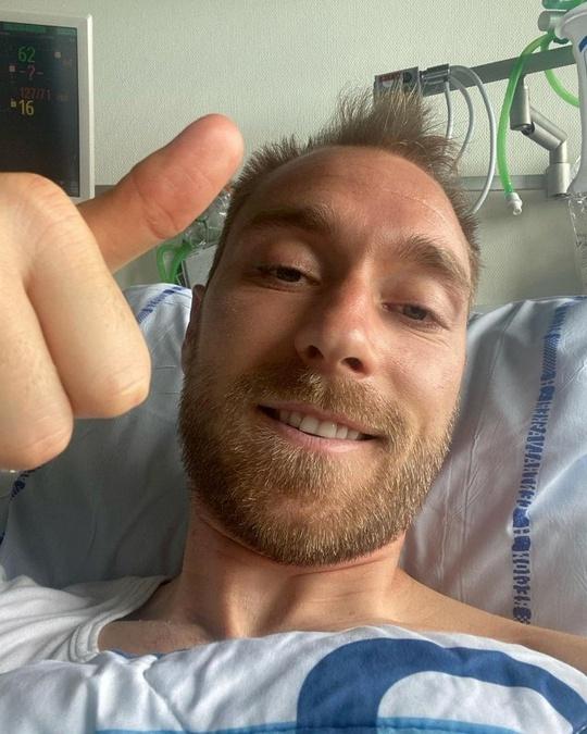 Ngôi sao Christian Eriksen sẽ được cấy máy kích tim - Ảnh 1.