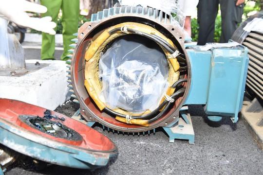 Giấu hàng trăm kg ma tuý trong dạ dày lợn, môtơ điện để chuyển ra nước ngoài - Ảnh 3.