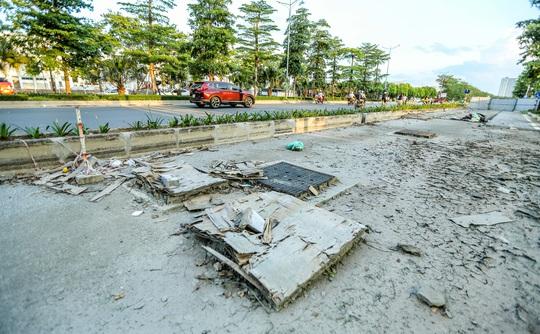 CLIP: Cận cảnh Dự án đại lộ Chu Văn An ngàn tỉ vẫn dang dở sau 7 năm thực hiện - Ảnh 6.