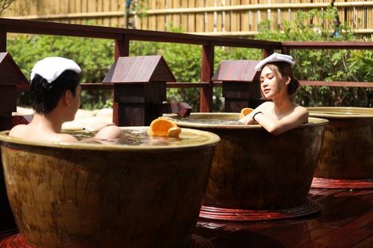 Onsen Quang Hanh - Nâng tầm giá trị vàng từ nguồn địa nhiệt trời ban - Ảnh 1.