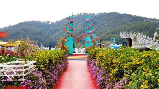 Lâm Đồng hợp thức hóa Vườn Thượng Uyển Bay từng xôn xao do xây dựng không phép - Ảnh 3.
