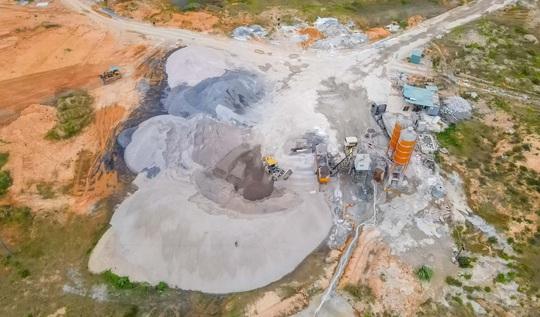 CLIP: Toàn cảnh dự án nhà máy nước mặt sông Hồng 3.700 tỉ đồng chậm tiến độ - Ảnh 12.