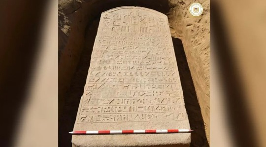Cuốc đất, người nông dân đào được báu vật Ai Cập 2.600 tuổi - Ảnh 1.