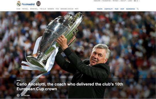 Carlo Ancelotti trở lại La Liga, nhận ghế HLV trưởng Real Madrid - Ảnh 1.
