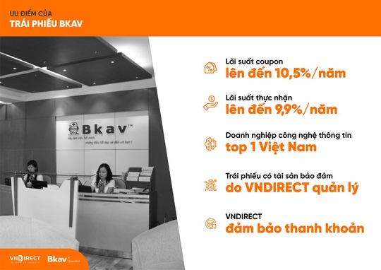 Bkav phát hành trái phiếu cho nhà đầu tư chuyên nghiệp - Ảnh 1.