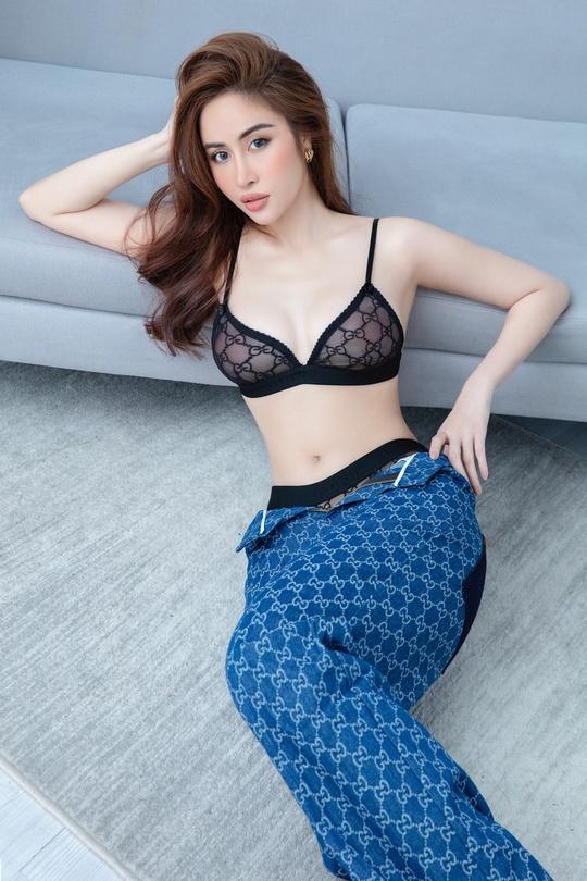 Hoa hậu Phan Ngọc Hân hé lộ bí quyết ở nhà vẫn đẹp - Ảnh 5.