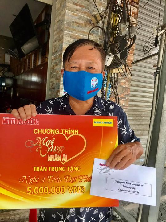 Mai Vàng nhân ái thăm nghệ sĩ hát bội Mỹ Kim và nhà báo Trần Đại Phú - Ảnh 5.