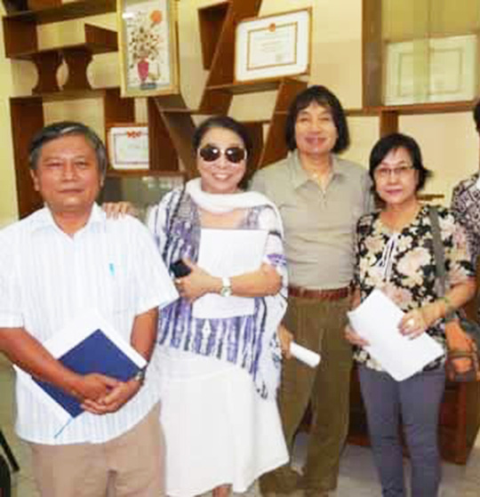 Mai Vàng nhân ái thăm nghệ sĩ hát bội Mỹ Kim và nhà báo Trần Đại Phú - Ảnh 6.