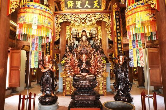 Nét độc đáo có một không hai của quần thể tâm linh Bảo Hải Linh Thông Tự - Ảnh 4.