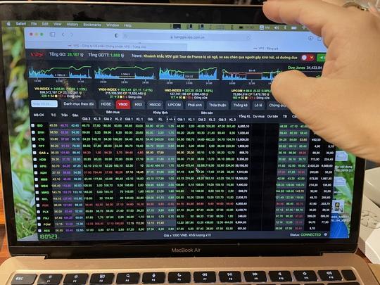 Dòng tiền quay lại chứng khoán, VN-Index trụ vững mốc 1.400 điểm - Ảnh 1.