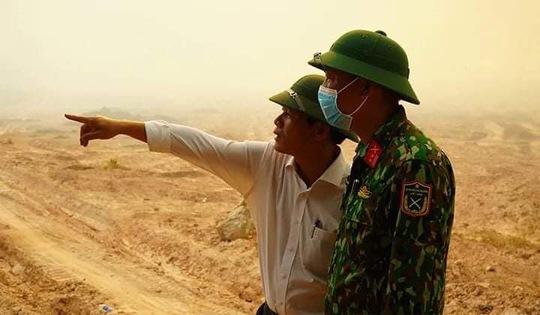 Chưa thể dập tắt hoàn toàn vụ cháy rừng ở Thừa Thiên - Huế - Ảnh 4.