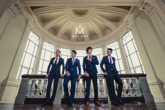 Thời trang vest nam đẹp tại TP HCM Mon Amie - Ảnh 1.