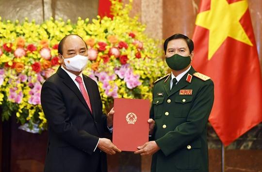 Chủ tịch nước trao quyết định bổ nhiệm tân Tổng Tham mưu trưởng - Ảnh 1.