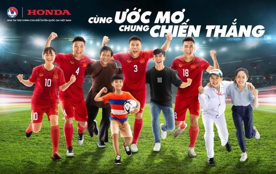 Honda Việt Nam tiếp tục đồng hành cùng Đội tuyển Quốc gia Việt Nam chinh phục những thử thách mới - Ảnh 1.