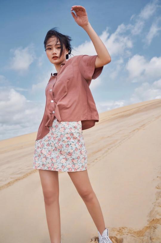 Kiểu áo sơ mi đang phủ sóng các shop thời trang Việt - Ảnh 8.