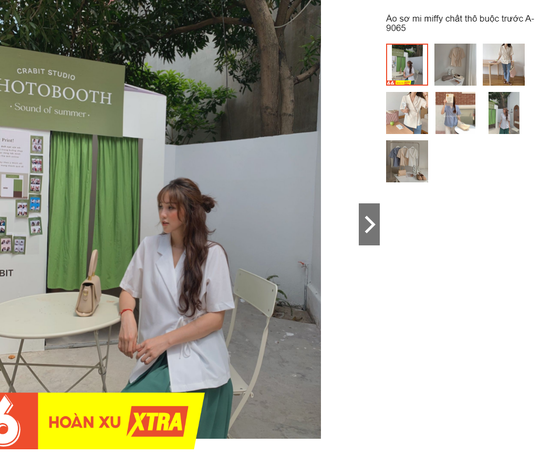 Kiểu áo sơ mi đang phủ sóng các shop thời trang Việt - Ảnh 9.