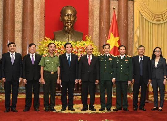 Chủ tịch nước trao quyết định bổ nhiệm tân Tổng Tham mưu trưởng - Ảnh 4.