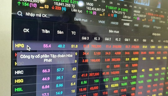 Cổ phiếu HPG, MBB, CTG, VPB tăng mạnh, vì sao khối ngoại vẫn bán ròng? - Ảnh 1.
