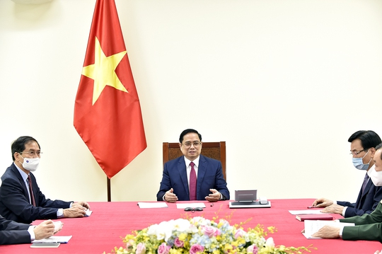 Thủ tướng Việt Nam đề nghị Trung Quốc hỗ trợ chiến lược vắc-xin Covid-19 - Ảnh 2.