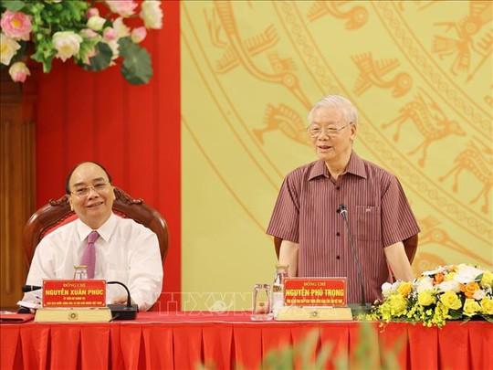 Chùm ảnh: Tổng Bí thư dự Lễ công bố Đảng ủy Công an Trung ương nhiệm kỳ mới - Ảnh 7.