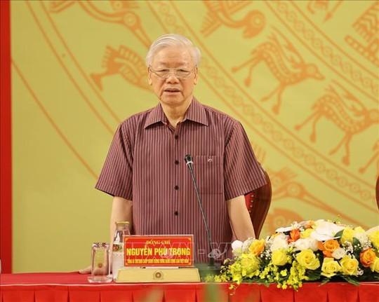 Chùm ảnh: Tổng Bí thư dự Lễ công bố Đảng ủy Công an Trung ương nhiệm kỳ mới - Ảnh 5.