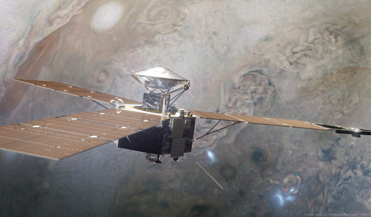 Đêm nay, tàu NASA áp sát mặt trăng màu tím có 2 đặc điểm y hệt Trái Đất - Ảnh 2.