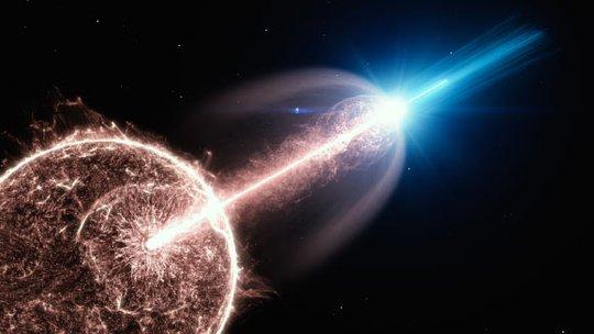 Trái Đất bắt được tia vũ trụ siêu mạnh truyền từ 1 tỉ năm trước - Ảnh 1.