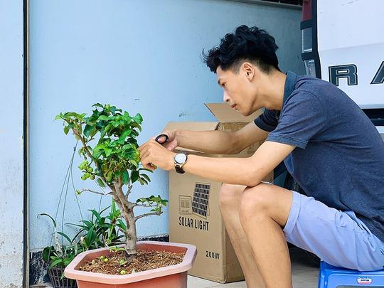 Cuộc thi chăm sóc cây trong xóm cách ly - Ảnh 2.