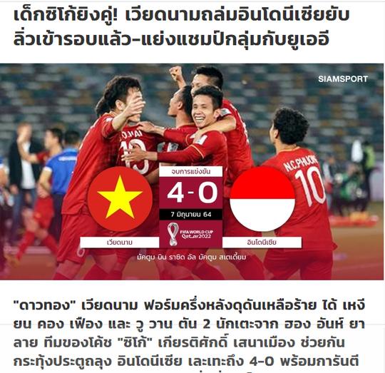 Báo chí Thái Lan hết lời khen ngợi tuyển Việt Nam, nhắc tên Kiatisak - Ảnh 1.