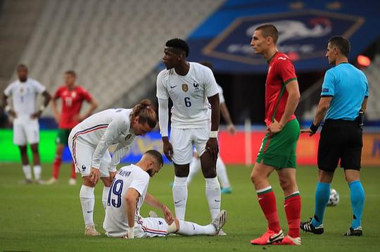 Thắng Bulgaria 3-0, tuyển Pháp lo mất Benzema đá đại chiến Euro - Ảnh 4.