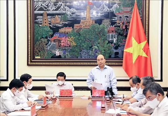 Chủ tịch nước chủ trì họp về chiến lược xây dựng và hoàn thiện Nhà nước pháp quyền XHCN - Ảnh 1.