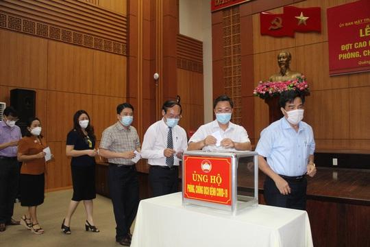 Vừa phát động, Quảng Nam đã nhận được gần 22 tỉ đồng phòng chống dịch Covid-19 - Ảnh 1.
