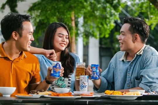 Tiger beer mang đến cơ hội trúng thưởng 7 quả bóng vàng cho người hâm mộ bóng đá Việt Nam - Ảnh 1.