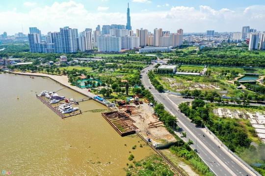 Giá căn hộ mới ở ngoại ô TP.HCM vượt mốc 60 triệu đồng/m2 - Ảnh 1.