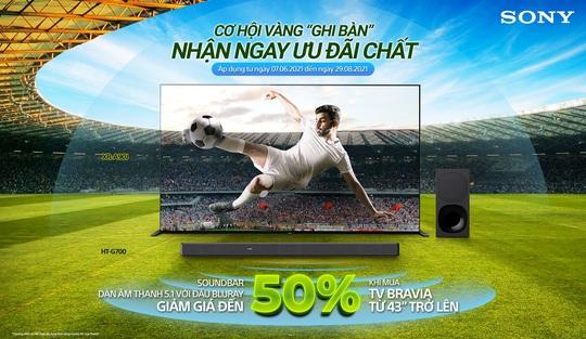 Sony Việt Nam khuyến mãi hấp dẫn chào đón giải vô địch bóng đá Châu Âu - Ảnh 1.