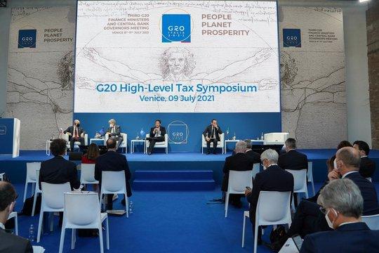 G20 đạt thỏa thuận lịch sử về đánh thuế - Ảnh 1.