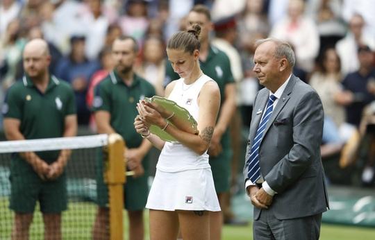 Ashleigh Barty vô địch đơn nữ Wimbledon 2021 - Ảnh 12.