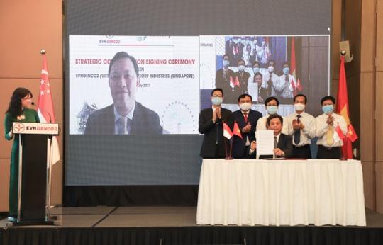 EVNGENCO2 ra mắt công ty cổ phần và ký kết hợp tác với Sembcorp - Ảnh 2.